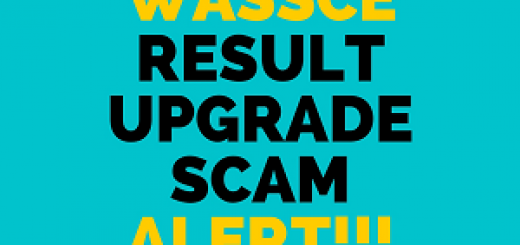 WASSCE / WAEC result upgrade scam alert