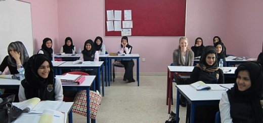 Teaching in the middle east image