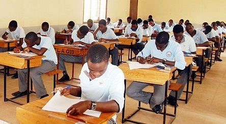Students At An Exam Hall Image